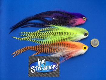 Hand made Articulated Streamers,